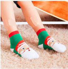 [Christmas] 2015 newest terry socks thick winter plus velvet cartoon children socks baby socks WS952(China (Mainland))