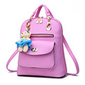Casual backpack for women Korean fashion college style lady backpacks Simple fashion all match school bags
