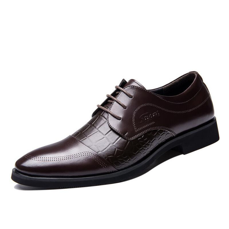fashion dress shoes new 2016 luxury pu leather oxford