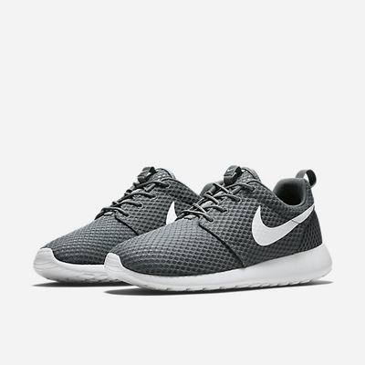 Roshe Runs Femmes - Nike Flyknit Trainer Lifestyle Clearance Suede Cuir Beige Gris Hommes Chaussures De Tennis Nike Tous Code Promo