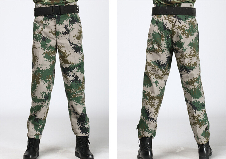 Tactical Pants Camouflage Green Brand Clothes Mens Designer Clothing men pants army trousers camouflage military training pants(China (Mainland))