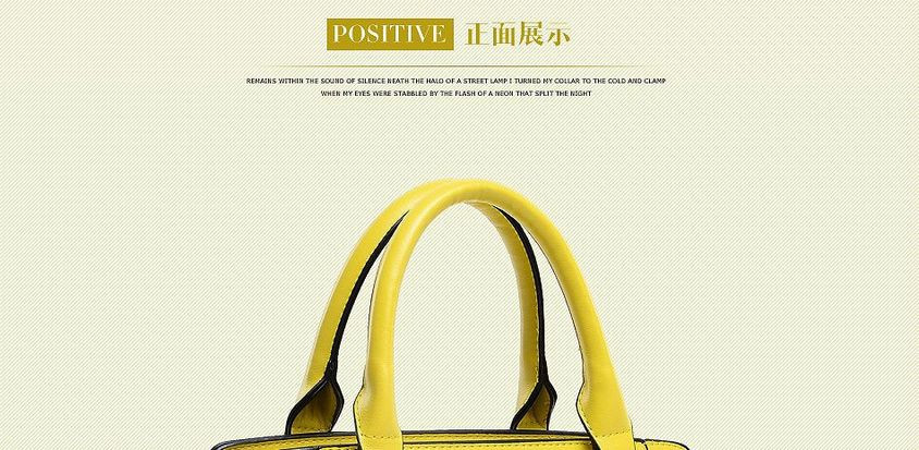 6 Color New 2014 Famous Brand Solid Geninue Leather Women Messenger