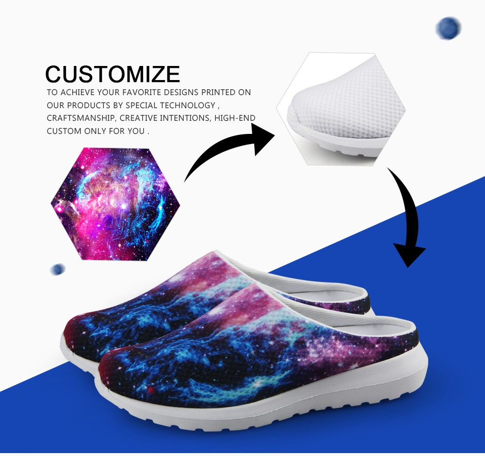 2016 New Novelty Summer Clogs Sandals Women Mesh Sandalia UK USA Flag Printed Sandalias Flat Slipper Ladies Casual Beach Shoes