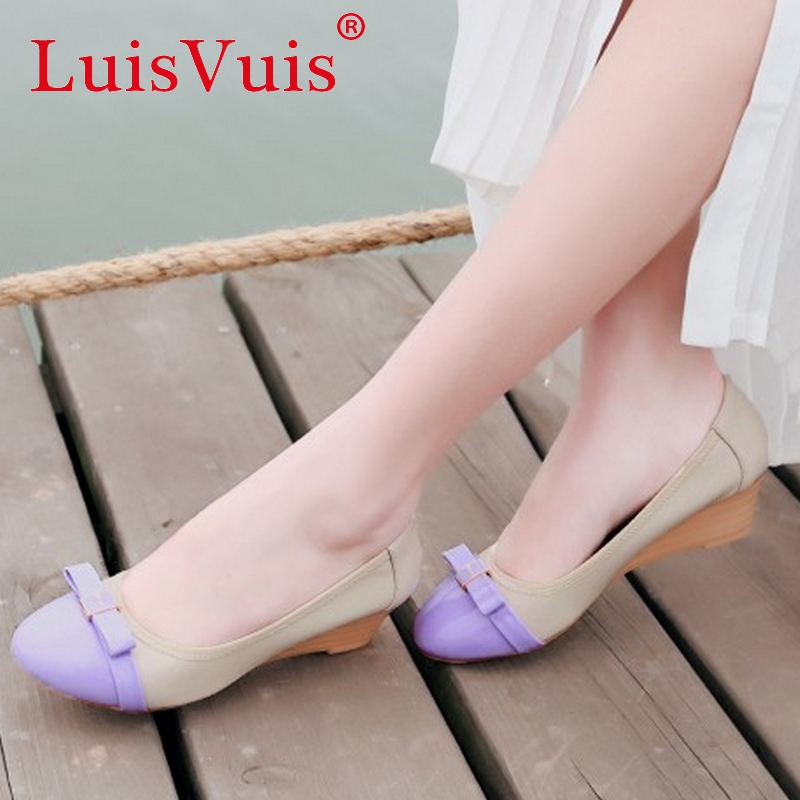 ladies leisure casual flats shoes bowtie lady loafers sexy spring women pumps brand footwear shoes size 34-39 P16179<br><br>Aliexpress