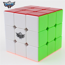 3x3x3 Cyclone Boys Magic Cube Puzzle Cubes Speed Cubo Square Puzzle No Sticker Rainbow Gifts Educational Toys for Children(China (Mainland))