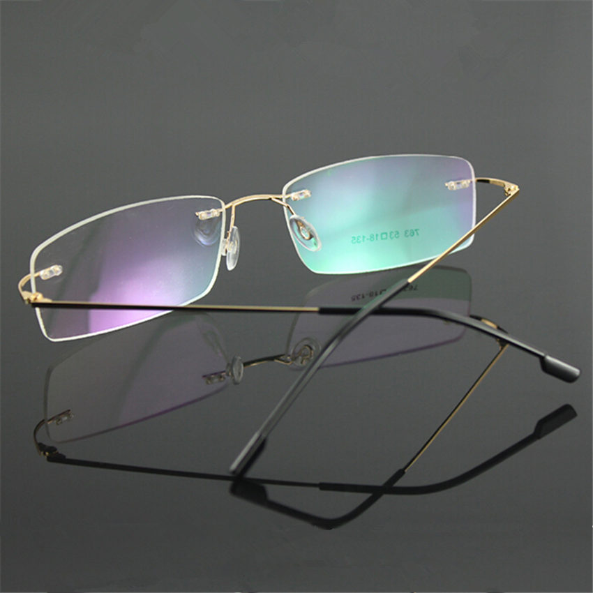 Online Buy Wholesale rimless eyeglasses brands from China ...