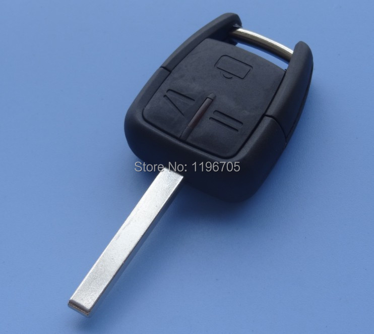 3 button Remote Key Case Fob Shell for Vauxhall OPEL Vectra Astra Zafira key HU100 Blank Blade wholesale and retail()