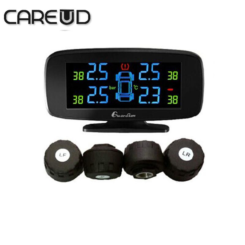 Careud U903 4 external sensors min sensor tyre pressure monitoring system car TPMS PSI/BAR careud tpms diagnostic tool(China (Mainland))