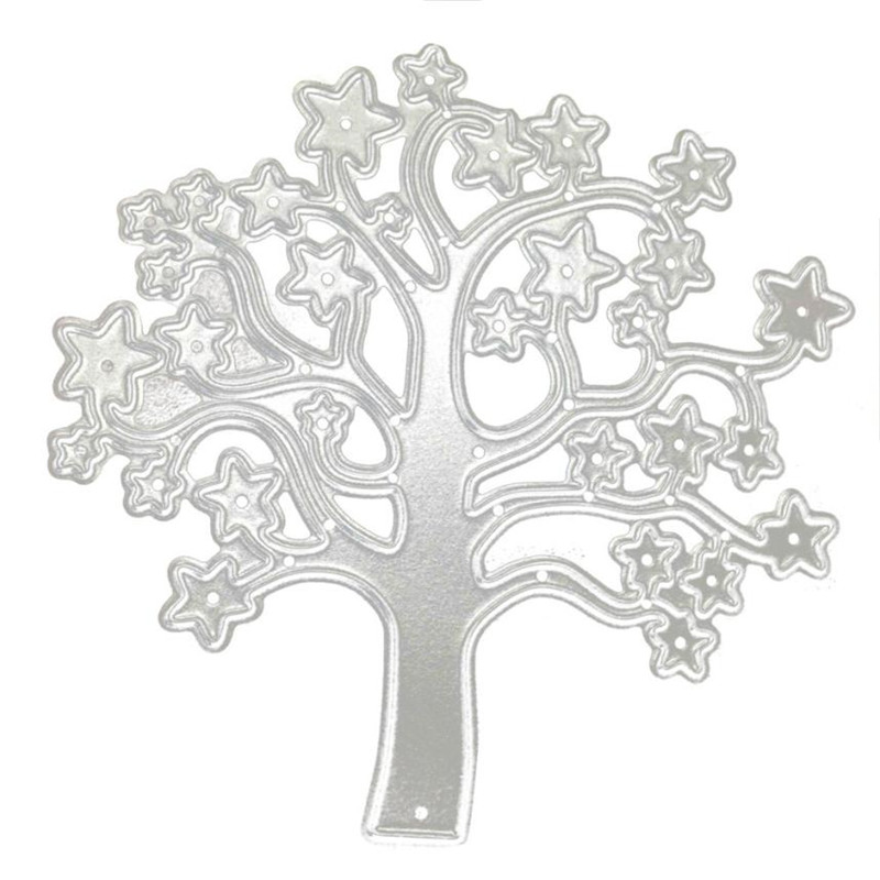 Cute Horse/Tree/Piano/Button/Butterfly Metal Die Cutting Dies Stencil For DIY Scrapbooking Album Paper Card Decor Craft
