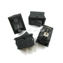Buy High 10PCS/LOT 2 Pin Snap-in On/Off Position Snap Boat Button Switch 12V/110V/250V KCS1-101 P0.5 21*15mm Rocker Switch for $1.39 in AliExpress store