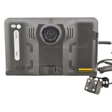 7 » емкостный экран Android 4.4 автомобильный GPS навигация грузовик автомобильный GPS навигатор 16 г 1080 P автомобилей радар-детектор, автомобильный видеорегистратор, AV-IN