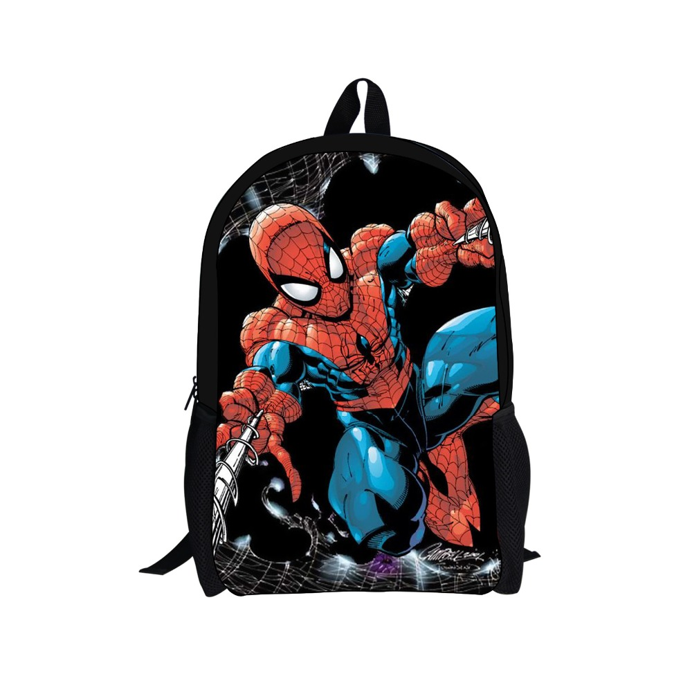 Children Cartoon School Bags Fashion Boys Super Hero Spiderman Backpack Kids Spider Man Schoolbag Teenagers Mochila - KIDS FOR YOU,CO.,LTD store