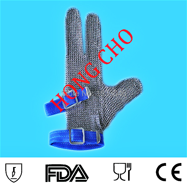 Three Digits Protection Stainless Steel Mesh Safety