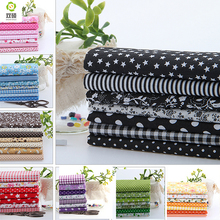 100% Tissus Cotton Fabric Telas Patchwork Fabirc Fat Quarter Bundles Fabric For Sewing Patchwork Doll Cloths 50*50 CM 56PCS/LOT(Hong Kong)