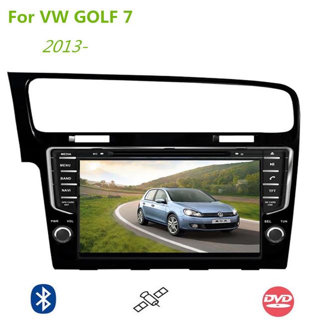 car dvd player for vw volkswagen golf 7 vii mk7 2013 9 inch 2 din gps navigation with audio. Black Bedroom Furniture Sets. Home Design Ideas