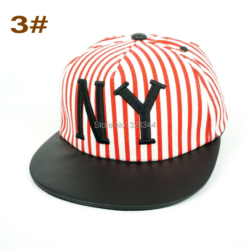 2015 New York kids cotton caps boys baseball summer hats children girls cap baby hat snapback - LAura Show Co., Ltd Store store