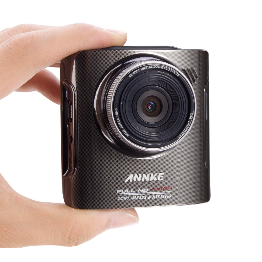 ANNKE X4 1080P HD Dual Camera Car DVR Video Recorder with GPS Logger Full HD 1080P 170 Degree Wide Angle Cam Video Recorder(China (Mainland))