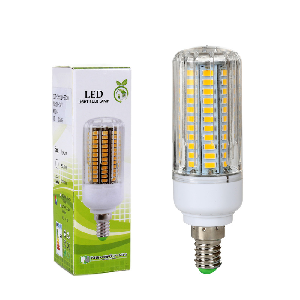 E12 5730 SMD LED Corn Bulb 3W 5W 7W 9W 12W 13W 15W LED Spot Light Lamp Bulb Warm Cool White 110V Energy Saving