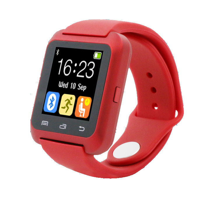 Original Bluetooth U80 Smart Watch BT notification Anti Lost MTK WristWatch for Samsung S4 Note 2