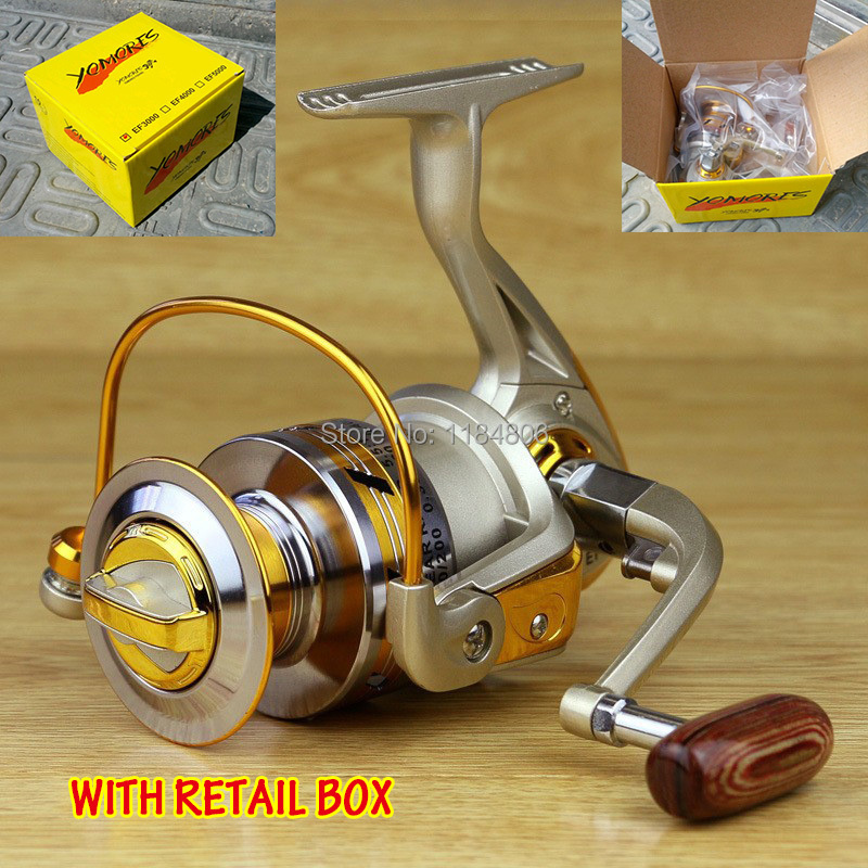 2014 new Spool Aluminum Spinning fly fishing reel baitcasting fishing reels saltwater okuma baitrunner metal front drag(China (Mainland))
