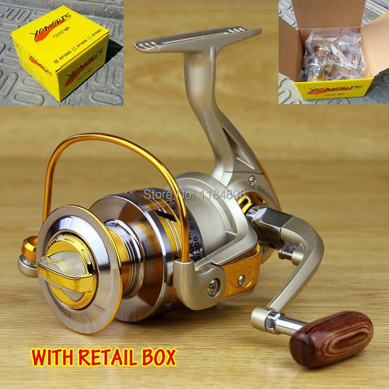 2014 new Spool Aluminum Spinning fly fishing reel baitcasting fishing reels saltwater okuma baitrunner metal front