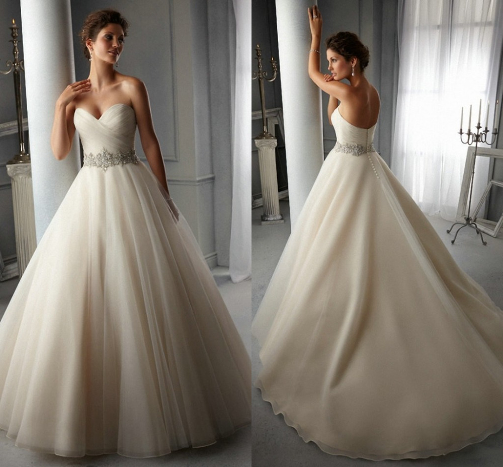 Bridal gowns plus size perfect wedding gowns from reliable dress