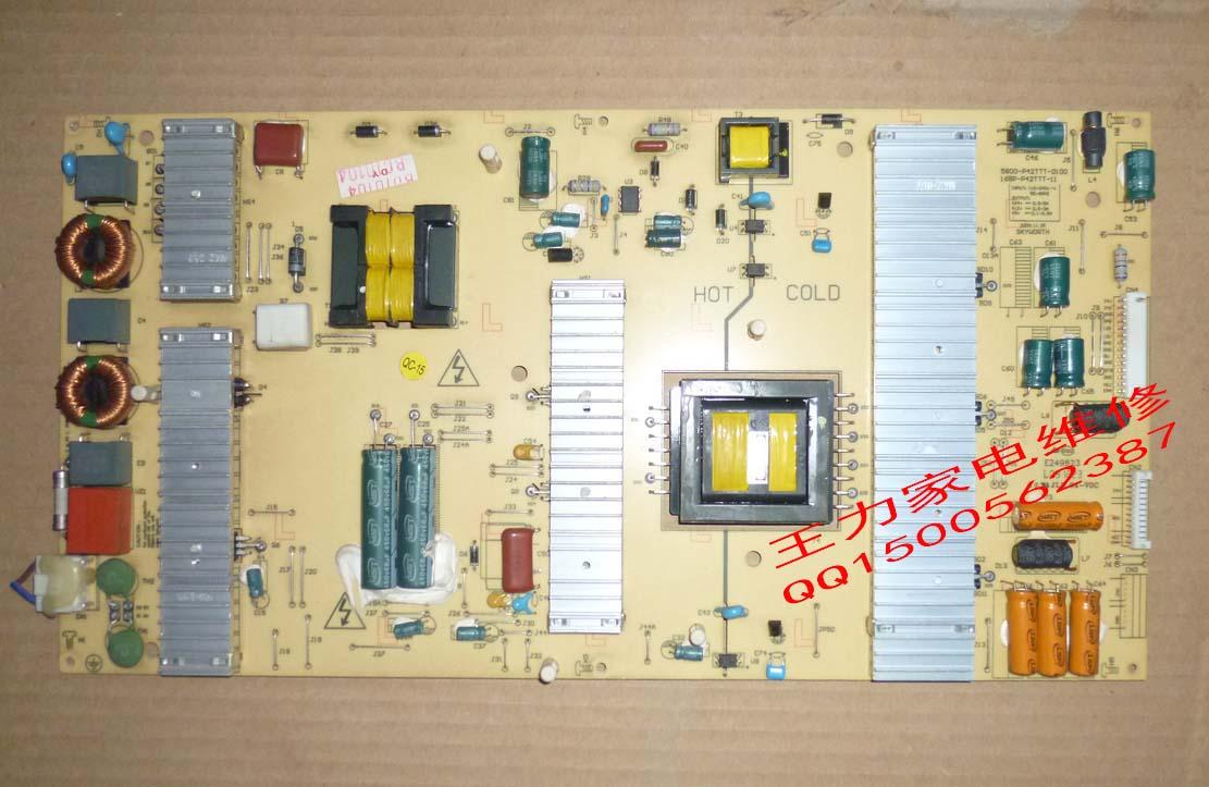 Фотография Free shipping 42LED10  5800-P42TTT-0100 168P-P42TTT-11 Used disassemble