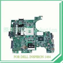 Cn-00k98k DAUM3BMB6E0 REV E для dell Inspiron 1464 материнской платы ноутбука HM55 DDR3 14.1 »