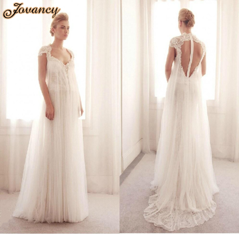 Buy elegant tulle a line lace court train for White wedding dresses with long trains