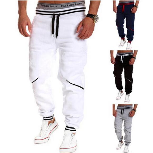 High quality! 2015 Spring Autumn Brand mens sweat pants Men cotton camouflage trousers Casual Men pants/ men's Joggers pants(China (Mainland))