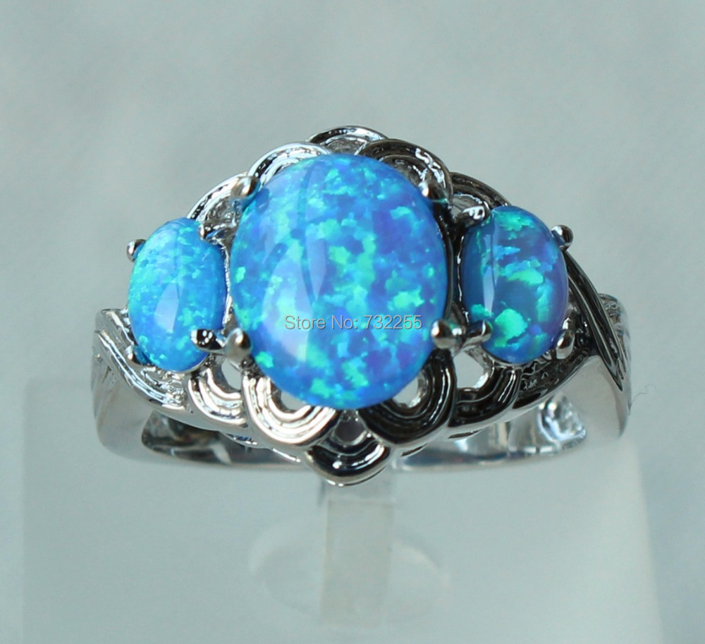 31 lovely Blue Opal Wedding Rings charsokalacom