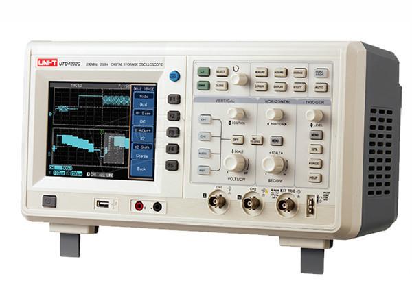 UNI-T UTD4202C 200MHz 2GSa/s 2Channels Digital Desktop Oscilloscope Logic Analyzer Multimeter 3in1 USB AC 110-220V(China (Mainland))