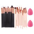 12Pcs Rose Gold Unicorn Makeup Brush Set pinceaux brochas pincel maquillage Cosmetic Eye shadow Foundation Brushes