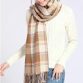 PDOVE Fashion Winter Scarf for Women Cashmere Scarf Wrap Luxury Brand Scarf Warm Pashmina Shawls Size