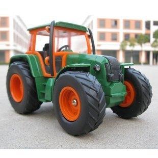 Vintage farm vehicle lighter tractor model