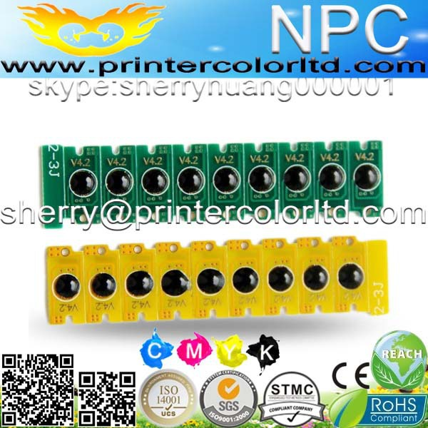 chip for Dell 04J0X7 for Dell 4G9HP for Dell C 1660 CNW for Dell C1660-mfp color smart chip -lowest shipping(China (Mainland))