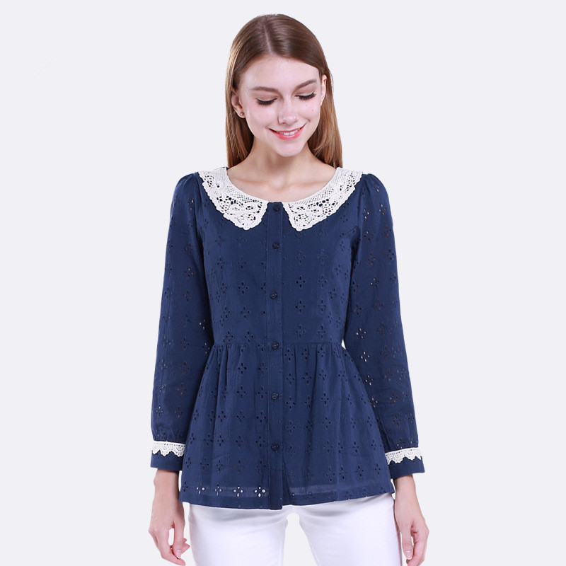 Long Sleeve Blouse Style 15