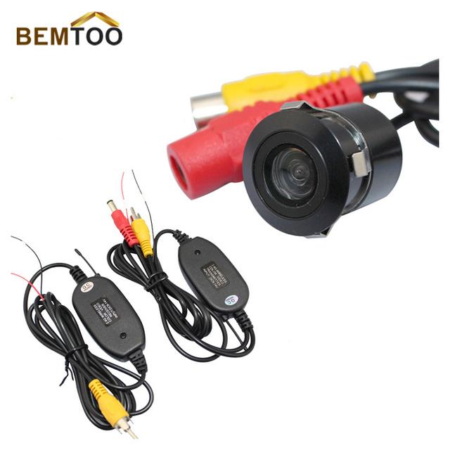 2.4G WIRELESS Module adapter for Car  Camera cam+170 Anti-Fog Glass Car Auto Rear View Reverse Waterproof Camera,Free Shipping
