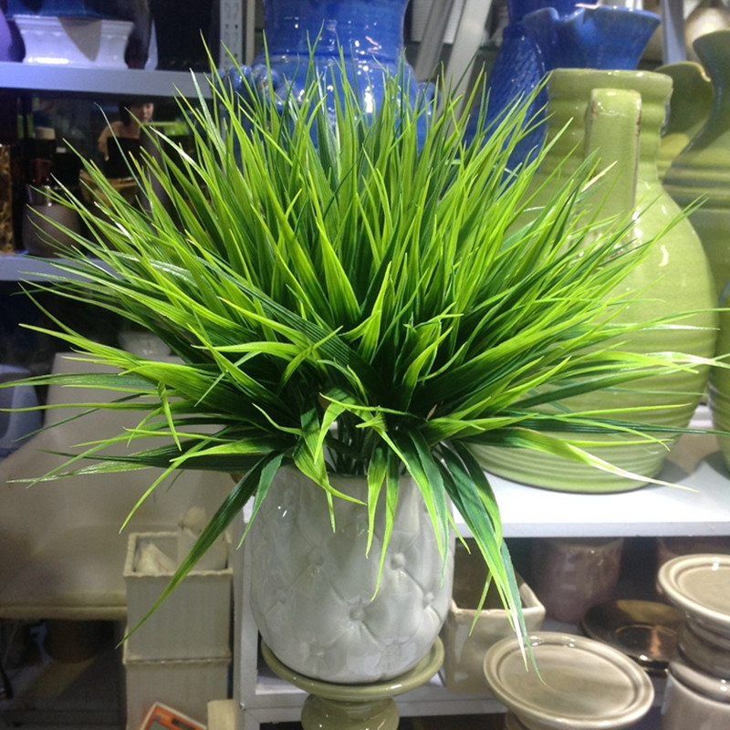 Buy new 2016 green imitation plastic for Artificial grass decoration