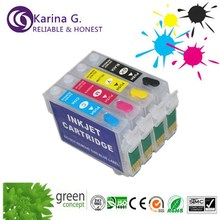 4x Empty Recharge Ink Cartridge T1401-T1404 For EPSON Stylus Office TX560WD 620FWD(China (Mainland))