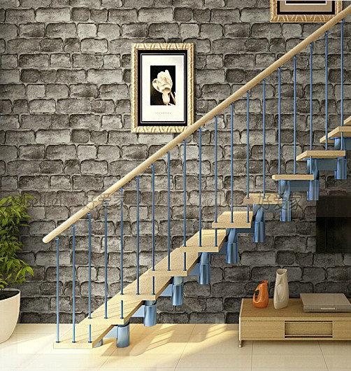 Culture stone imitation brick wallpaper living room wallpaper backdrop clothing papel de parede ceiling wallpaper(China (Mainland))