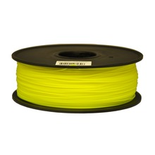 Synkia brand Fluorescent yellow 3D Printer Filaments PLA 1kg plastic Rubber Consumables for 3d Pen MakerBot/RepRap/UP/Mendel