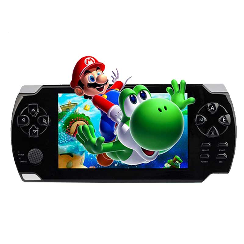 4.3inch Portable Vedio Game Player 8G Handheld Game Console With Recorder FM Radio MP5 Tetris Hand Held Game Player Black*(China (Mainland))