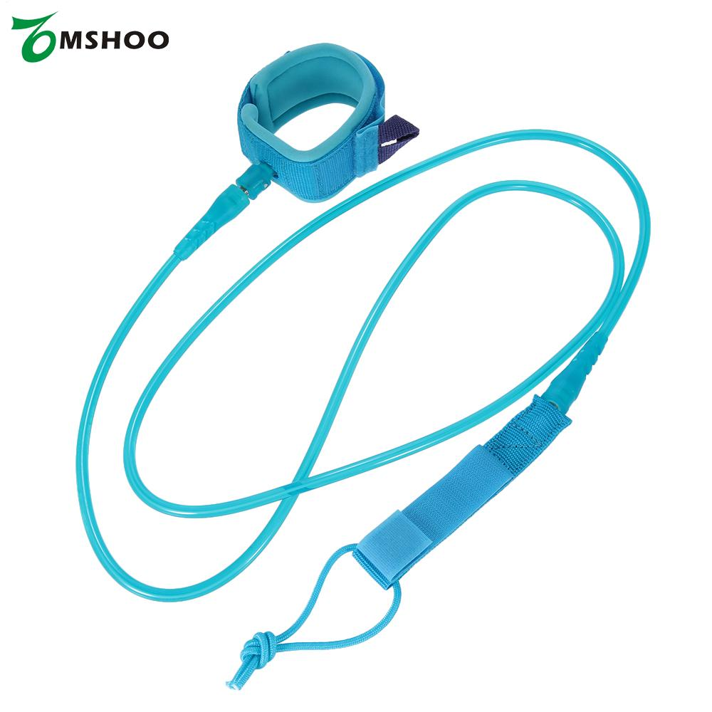 6 Feet 7mm Thick Surf Leash Surfing Surfboard Leash Rope Stand Up Paddle Board Leash Rope Coil Surf Accessories(China (Mainland))