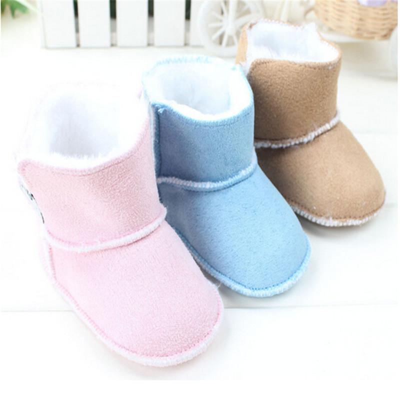 Гаджет  Brand Newborn Infant Girls Super Warm Snow Boots Bebe Prewalker Velvet Winter Footwear Toddler Warm Shoes Baby First Walker Boot None Детские товары