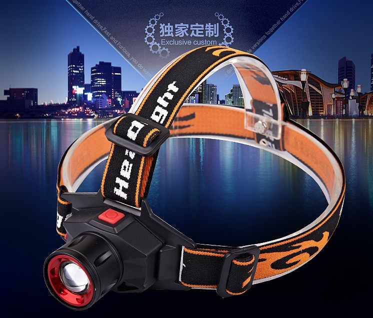 5W Ultra Bright 2000 Lumen CREE Q5 LED Headlamp Zoomable Headlight Head Light Lamp For Fishing Camping with Battery + Charger <br><br>Aliexpress