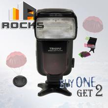Buy Buy 1 flash get 2 gift !Triopo TR-970 TTL Flashgun Speedlite suit Nikon D7100 D5300 D5200 D3300 D800s D600 for $67.89 in AliExpress store