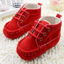 New Infant Baby Girl Sneakers Princess Shoes Lace Up Soft Sole Fashion Anti-slip Shoe Hot(China (Mainland))