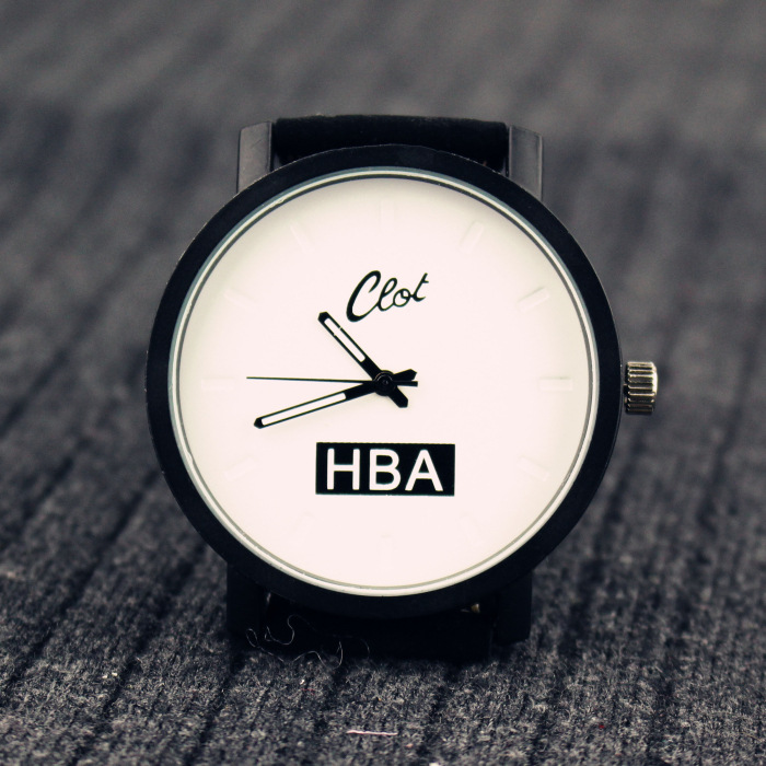 Fashion Leather Belts men women watches HBA big dial students quartz lovers couple wristwatches <br><br>Aliexpress