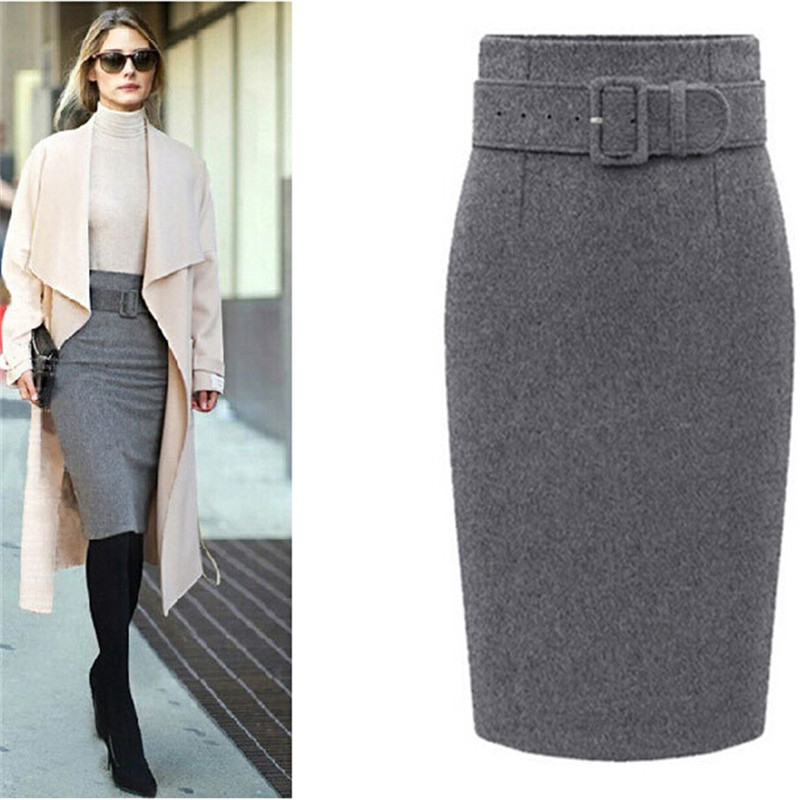 Long Pencil Skirts For Women
